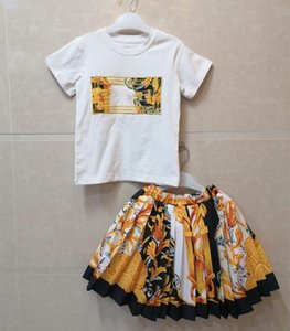 2021 new high quality Children Clothing spring and summer Toddler Girls short Clothes Outfit Suit Kids Tracksuit For Girls Clothing Sets
