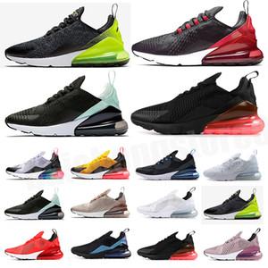 270  Männer Schuhe Schwarz Triple White Kush Womens Herren Turnschuhe Mode Athletics Trainer Freizeitschuhe Größe 36-45