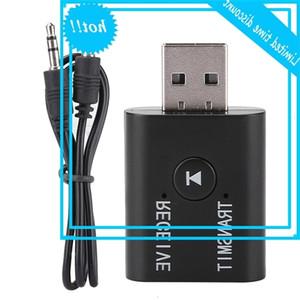 2 في 1 لاسلكي BT 5.0 + EDR استقبال الصوت USB / AUX ثنائي الاتجاه محول الدائرة محول