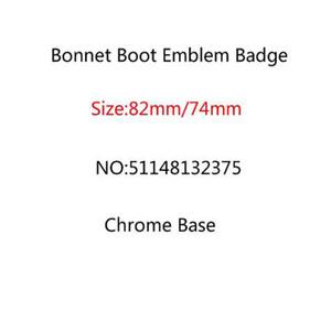 Araba Styling 100 adet 82mm 74mm Bonnet Boot Emblem Rozet Ön Arka Bagaj Logosu E46 E39 E38 E90 E60 x3 x 5 x 6 511481323