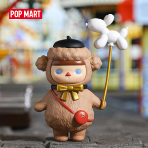POP MART Pucky balloon babies art figures Binary Action Figure Birthday Gift Kid Toy Free shipping Q1123