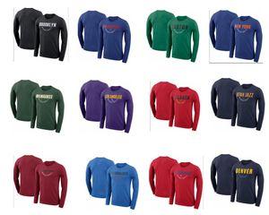 homensLakers.JazzKnicks.Celtics Baloncesto, estrelas saudação t-shirts; Casual Atleta Atleta Saudação T-shirt.