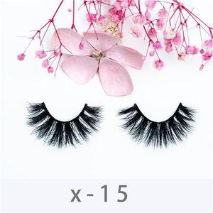 3D 22mm Mink Lashes Makeup Handmade Lash High Volume Reusable Eyelash Fake Eyelashes False Eyelashes Natural Beauty