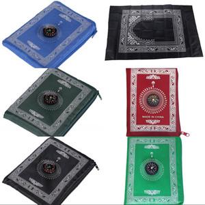 Alfombras portátiles Alfombras de lana Manta de lana 210D Paño impermeable Trazo de viaje Mantas Mantas de bolsillo Matera de oración Llegada 4 4YQ J2