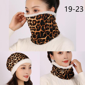 2020 Women Ring Neck Scarf Unisex Winter Snood Fur Collar Bandana For Lady Foulard Warm Female Warm Infinite Face Scarves sqcUcg