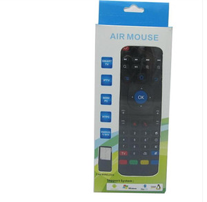 X8 Air Fly Mouse MX3 2.4GHz Wireless Keyboard Remote Control Somatosensory IR Learning 6 Axis without Mic for Android TV Box Smart