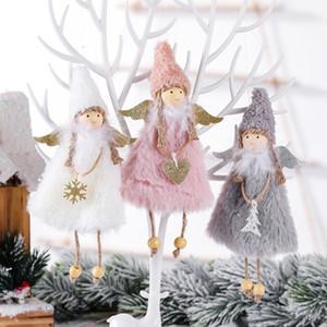 2020 New Love Angel Cross-Border Venta caliente Decoración de Navidad Suministros de Navidad Creativo Árbol de Navidad Colgante Niñera Regalo