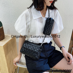 3A Designer top wallet ladies fashion clutch soft leather fold messenger bag fannypack handbag with box wholesale