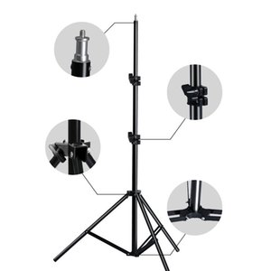 Professional Adjustable Light Stand Tripod With 1 4 Screw Head For Photo Studio Flashes Photographic Lighting Softbox Y1117