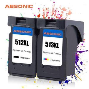 Ink Cartridges PG512 CL513 Cartridge Replacemens For Canon PG 512 CL 513 512XL Pixma MP240 MP250 MP270 MP230 MP480 MP499 MX350 Printer 2PCS1