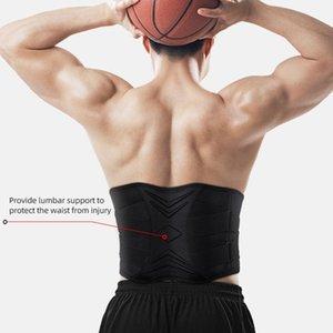 Lumbar Waist Support Belt Strong Lower Back Brace Support Corset Belt Waist Trainer Sweat Slim for Sports Pain Relief New