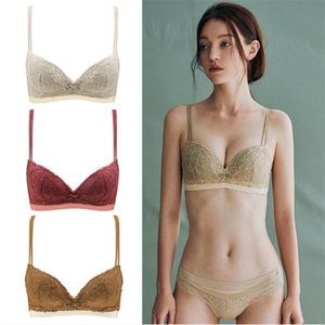 Luxury Design Womens Affinity Underwear Set Ladies Thin and Light Bra Lace Quickly Dry Briefs
