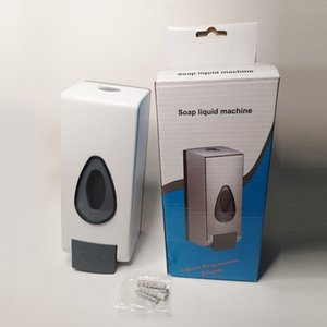 Sanitizer Dispensers 600ML Touchless Hand Disinfection Machine Soap Dispenser Wall-mounted Push Mist Spray Hand Sanitizer Bottle
