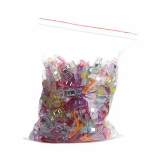DIY Beatwork Швейные зажимы зажимы многоцветных пластиковых клипов Поджбочка Швейные инструменты Швейные аксессуары Ремесла