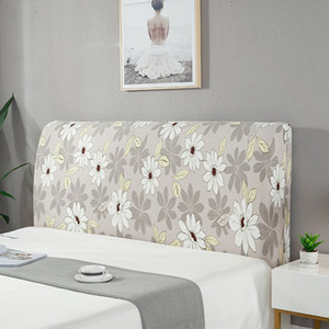 Cloth Thickening Headboard Cover Cactus Flower Printed Bedroom Case Living Bedhead Elastic Covers Home Protector Washable New 19 6qj4 G2