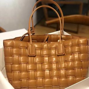 Frauen Tote Handtasche Crossbody gewebt Tasche Schulter Shopping Pouch weiche echte echte echte leute hochwertige handtaschen