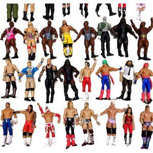 18 cm Yüksek Kaliteli Güreş Action Figure Oyuncak Karakterler Mesleği Güreş Gladyatörleri Çocuklar Için Çocuk Brithday Noel Hediyeleri