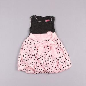 Clearance sale Polka Dot Jumper Skirt Pageant Dresses Flower Girl Dresses White Princess Dress Girls Party Dresses Z182