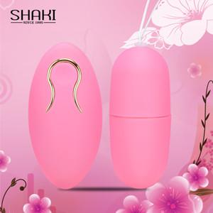 Shaki calcinha vibrador controle remoto sem fio vibrando bala clitóris Estimulador vaginal massagem bola para casais adultos sexo loja