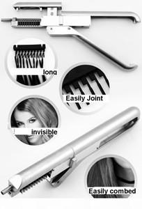 Новые наращивания волос 6d машина для обработки волос 6D парик уплотнение, бесплатный DHL