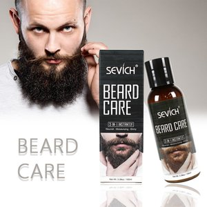 Sevich 100ml Beard Care Oil Beard Care Styling Moisturizing Effect Beard Conditioner Leave-In Conditioner for Groomed BeardRabin