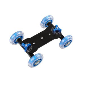"""Mobile Rolling Sliding Dolly Stabilizer Skater Slider 11""""Articulating Magic Arm Camera Rail Stand Photography Car For 7 6"""