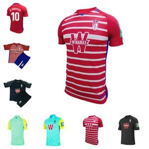 2020 2021 New Granada Maillot de Foot 20 21 Granada Club de Fútbol Джерси Карлос FDEZ D.machis Machis Soldado Puertas футбольная футболка
