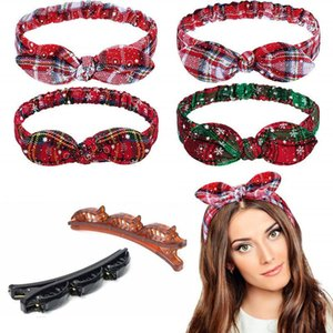 Christmas Headband Double Bangs Hairstyle Hairpin Hair Accessories Double Layer Bangs Hairbands hair Accessories Navidad Ofertas