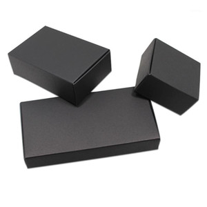 50pcs Black  White Cardboard Paper Gift Boxes for Wedding Birthday Favors Candy Crafts Wrapping Box Foldable Kraft Package Boxes1