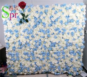 SPR Low Moq high quality Beautiful Wedding Decorative Backdrop Panels Artificial Flower Wall Panel