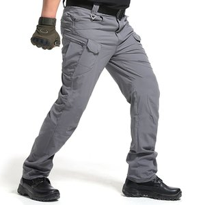 High Quality City Tactical Cargo Pants Men Waterproof Work Cargo Long Pants with Pockets Loose Trousers Many Pockets S-3XL