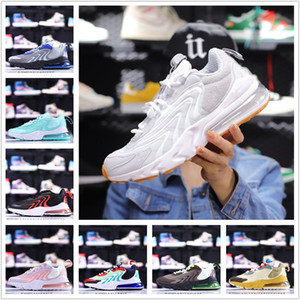 USA bright orange 270 react eng mens running shoes aliens cactus trails core black neon eggplant 270s men women trainers sports sneakers