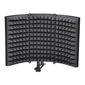 Studio-Mikrofon-Isolationsschild-Schallschutzfilter-Vocal-Aufzeichnungsschaumplatte