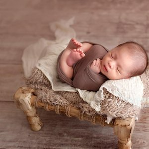 Newborn Baby Photography Wooden Bed Props Tiny Baby Photo Shoot Studio Basket Accessories Newborn fotografia Props