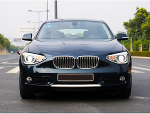 car styling For BMW 1 Series F20 Headlights 2012-2015 Double Beam Lens Projector Xenon Lamps led drl