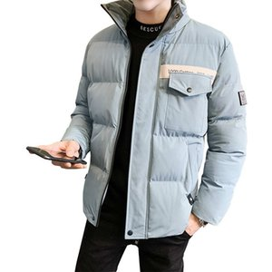 New Arrival Winter Parka Jacket Men Thicken Warm Coats Stand Collar Cotton Padded Male Overcoats Brand Clothing M-4XL ropa 201124