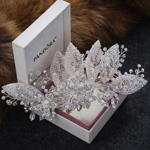 Cristal Casamento Clipes Acessórios Jóias Acesso Ladies Cheveux Bridal Tiaras Bijoux Hair Stick para as mulheres W0104