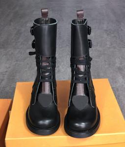 2021 metropolis ranger boots امرأة القتالية أحذية المصممين مارتن الكاحل الأحذية كالفسكين والحنين الأحذية المسطحة
