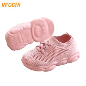 Vfochi nuevos deportes para niños color rosa altura creciente niños deporte adolescente niñas zapatos casuales y1118
