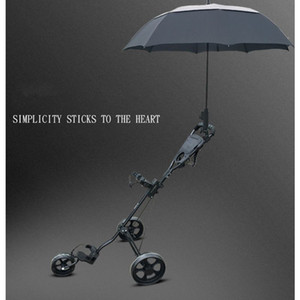 New 1 Pc Golf Trolley Cart Accessories Adjustable Umbrella Holder Clubbers 201026