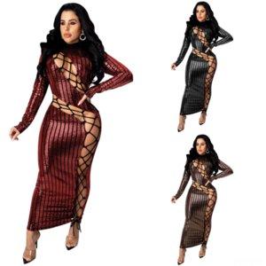 NRYR Dress Dress Formal Dress Due TwoDres Tops Pie Sleeve Crop Fashion Split Long Sexy Dress Donne lunghe
