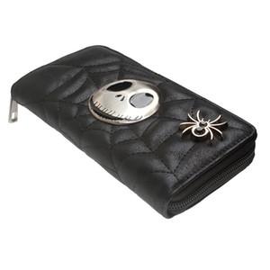 Jack Skellington Weihnachtsgeschenk Geldbörse Große Kapazität Brieftaschen Weibliche Geldbörse Dame Geldbörsen Frauen Kartenhalter DFT5048 C1115