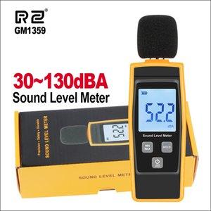 متر RZ مستوى الصوت مستوى الصوت الرقمي متر Sonometros الضوضاء مستوى الصوت متر 30-130dB ديسيبل GM1359 البسيطة متر الصوت