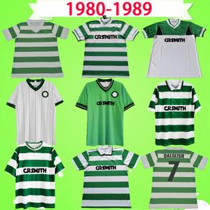 Celtic 1985 1986 Retro Fußballtrikots 85 86 Vintage Fußballtrikots McInally Johnston MacLeod Archdeacon Aitken Home Green