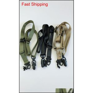Bluecamp M-S2 Multi Mission Sling System Black Shipping Black Green Tan Upf3X