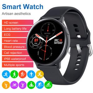 S20 1.4 인치 전체 터치 스마트 시계 남성 메시지 알림 음악 제어 IP68 Apple Watch 용 방수 7 일 길이의 대기