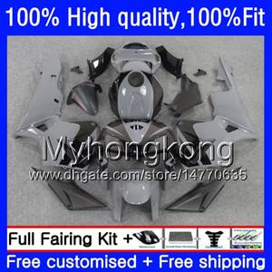 100% Fit For HONDA CBR600F5 CBR600 RR CBR600RR 05 48HM.219 CBR 600RR CBR 600 CC RR 600CC F5 05 06 2005 Grey black 2006 Injection Fairings