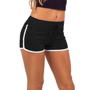Sportswear Women Yoga Shorts Summer Shorts Sport Low Waist Drawstring Ladies Workout Fitness Skinny Sports Female