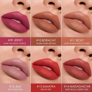 Fashion Moisturizing Lipstick Lip Glaze Matte Lipstick Makeup Lip Velvet Liquid Cosmetic Stick Waterproof Long-Lasting K2C8