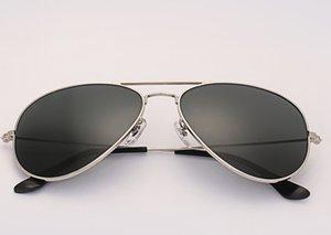 Luxus-Sonnenbrille Original Design UV400 Glas Männer Frauen Gläser des Lunettes de Soleil Kostenlose Lederkoffer, Zubehör, Box